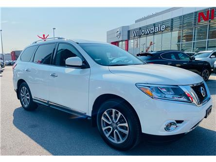2016 Nissan Pathfinder SL (Stk: C35647) in Thornhill - Image 1 of 19