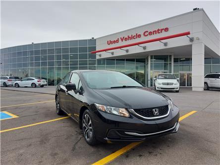 2015 Honda Civic EX (Stk: U204222) in Calgary - Image 1 of 24