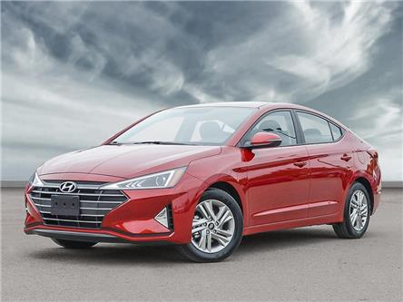 2020 Hyundai Elantra Preferred w/Sun & Safety Package (Stk: H6135) in Toronto - Image 1 of 23