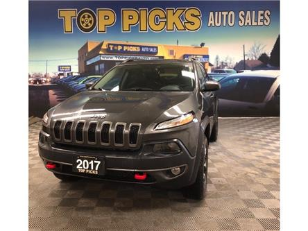 2017 Jeep Cherokee Trailhawk (Stk: 639906) in NORTH BAY - Image 1 of 28
