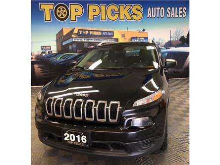 2016 Jeep Cherokee Sport (Stk: 307956) in NORTH BAY - Image 1 of 28