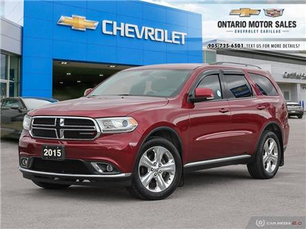 2015 Dodge Durango Limited (Stk: 135345B) in Oshawa - Image 1 of 36