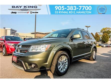 2018 Dodge Journey NAVIGATION, BACKUP CAM, SUNROOF, HEATED SEATS (Stk: 7143) in Hamilton - Image 1 of 21