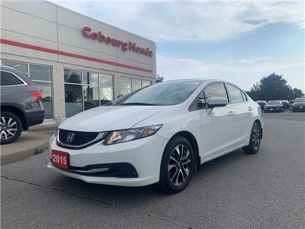 2015 Honda Civic EX (Stk: 20291A) in Cobourg - Image 1 of 25