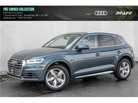 2018 Audi Q5 2.0T Technik (Stk: C7853) in Vaughan - Image 1 of 22