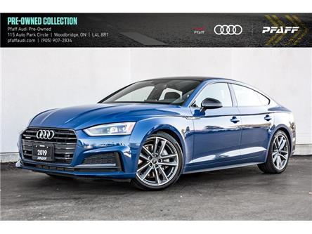2019 Audi A5 45 Progressiv (Stk: C7889) in Woodbridge - Image 1 of 22