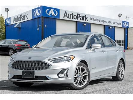 2019 Ford Fusion Hybrid Titanium (Stk: 19-90998AR) in Georgetown - Image 1 of 21
