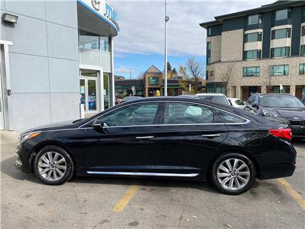 2016 Hyundai Sonata Sport Tech (Stk: NT3209) in Calgary - Image 1 of 15