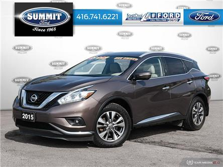 2015 Nissan Murano  (Stk: 20J7603A) in Toronto - Image 1 of 27