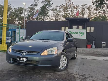 2003 Honda Accord LX-G (Stk: 5521) in Mississauga - Image 1 of 22