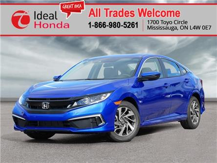 2020 Honda Civic EX w/New Wheel Design (Stk: I201172) in Mississauga - Image 1 of 23