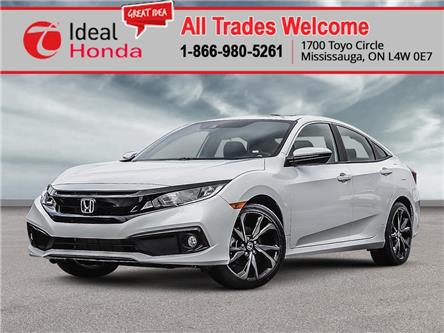 2020 Honda Civic Sport (Stk: I201206) in Mississauga - Image 1 of 23