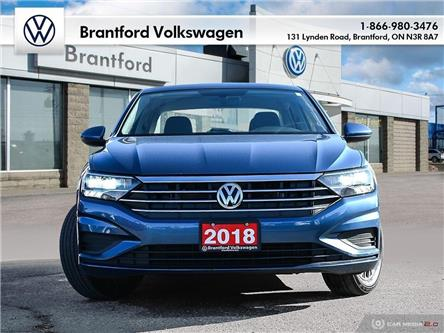 2019 Volkswagen Jetta 1.4 TSI Highline (Stk: VC18817) in Brantford - Image 1 of 27