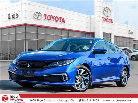 2019 Honda Civic EX (Stk: D202171A) in Mississauga - Image 1 of 29