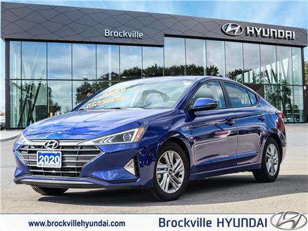 2020 Hyundai Elantra  (Stk: F1017) in Brockville - Image 1 of 27