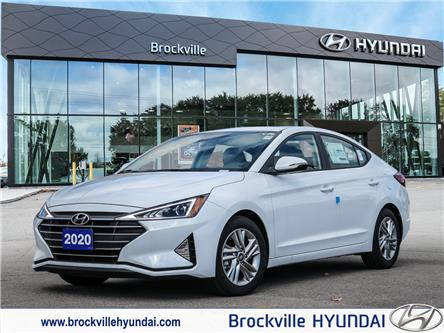 2020 Hyundai Elantra Preferred (Stk: F1060) in Brockville - Image 1 of 27