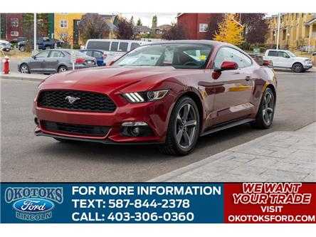 2017 Ford Mustang EcoBoost Premium (Stk: LK-127A) in Okotoks - Image 1 of 22