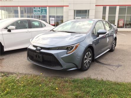 2021 Toyota Corolla Hybrid Base w/Li Battery (Stk: CX018) in Cobourg - Image 1 of 10
