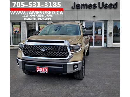 2018 Toyota Tundra SR5 Plus 5.7L V8 (Stk: P02828) in Timmins - Image 1 of 14
