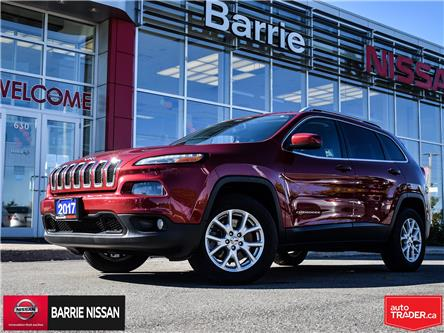 2017 Jeep Cherokee North (Stk: 20472A) in Barrie - Image 1 of 28