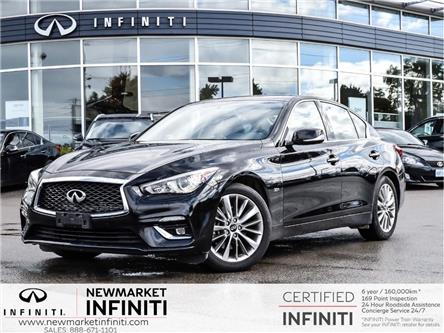 2018 Infiniti Q50 3.0t LUXE (Stk: UI1408) in Newmarket - Image 1 of 23