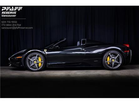 2013 Ferrari 458 Base (Stk: VU0524A) in Vancouver - Image 1 of 14