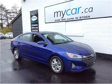 2020 Hyundai Elantra Preferred w/Sun & Safety Package (Stk: 201077) in Cornwall - Image 1 of 22