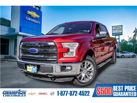 2015 Ford F-150 Lariat (Stk: 19-98A) in Trail - Image 1 of 27