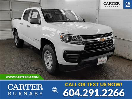 2021 Chevrolet Colorado WT (Stk: D1-50370) in Burnaby - Image 1 of 13
