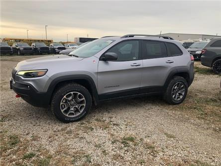 2021 Jeep Cherokee Trailhawk (Stk: 95943) in St. Thomas - Image 1 of 19