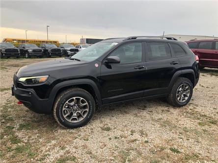 2021 Jeep Cherokee Trailhawk (Stk: 95907) in St. Thomas - Image 1 of 17
