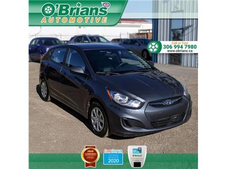 2012 Hyundai Accent GL (Stk: 13877A) in Saskatoon - Image 1 of 9