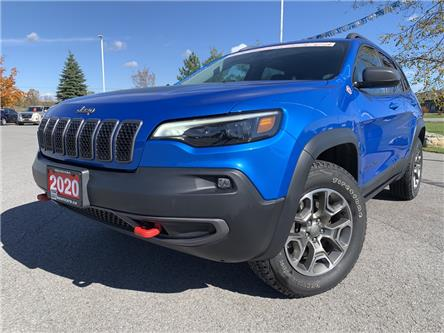2020 Jeep Cherokee Trailhawk (Stk: 12290) in Carleton Place - Image 1 of 25