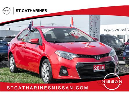 2016 Toyota Corolla S (Stk: P2816) in St. Catharines - Image 1 of 5