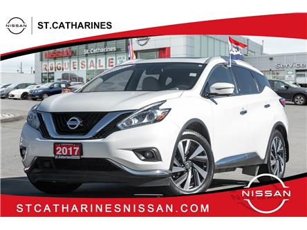 2017 Nissan Murano Platinum (Stk: P2811) in St. Catharines - Image 1 of 22