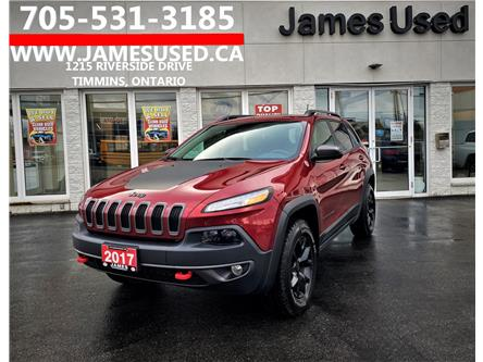 2017 Jeep Cherokee Trailhawk (Stk: N2120A) in Timmins - Image 1 of 14