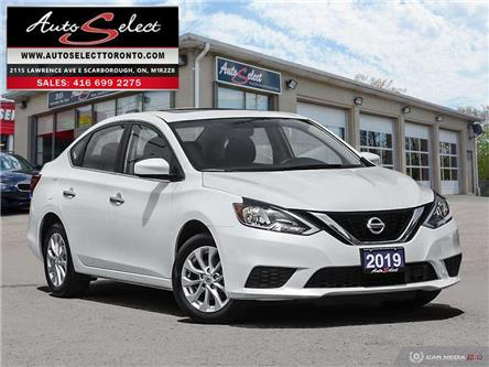 2019 Nissan Sentra 1.8 SV (Stk: 1W213X1) in Scarborough - Image 1 of 28