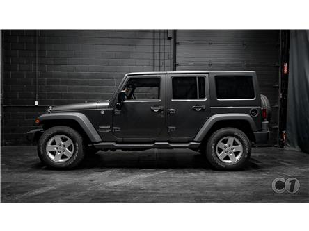 2018 Jeep Wrangler JK Unlimited Sport (Stk: CT20-595) in Kingston - Image 1 of 38