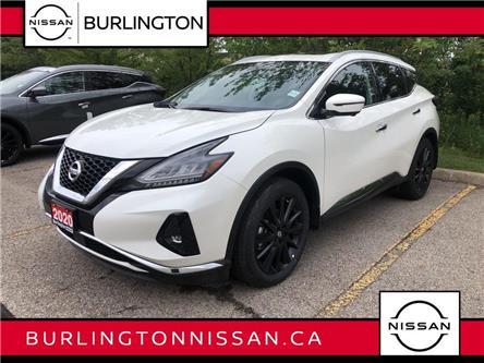 2020 Nissan Murano Platinum (Stk: Z8624) in Burlington - Image 1 of 5
