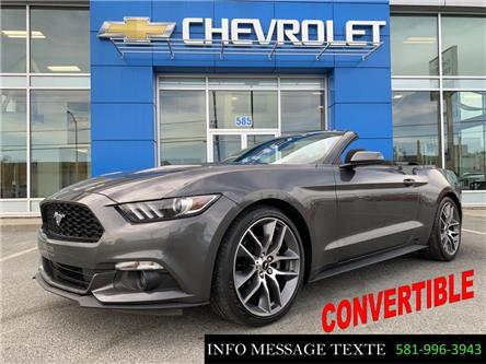 2017 Ford Mustang V6 (Stk: X8332A) in Ste-Marie - Image 1 of 28