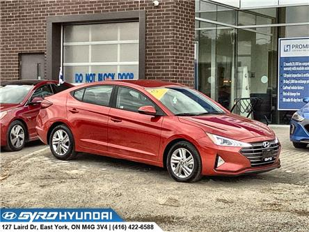 2020 Hyundai Elantra Preferred (Stk: H6094) in Toronto - Image 1 of 28