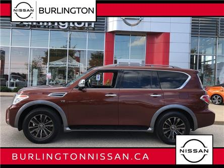 2017 Nissan Armada Platinum Edition (Stk: Z9029A) in Burlington - Image 1 of 21