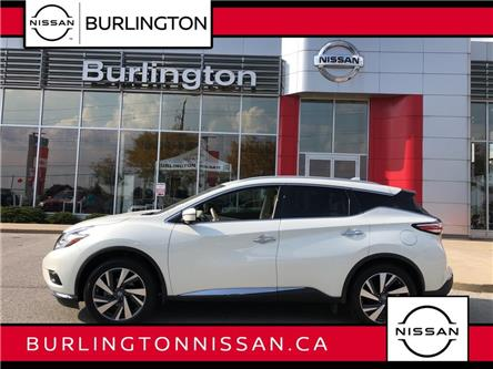 2017 Nissan Murano Platinum (Stk: Z8653A) in Burlington - Image 1 of 21
