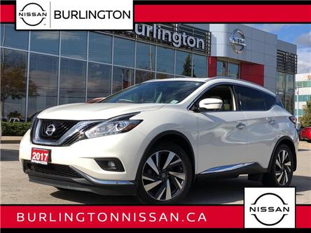 2017 Nissan Murano Platinum (Stk: A7053) in Burlington - Image 1 of 21