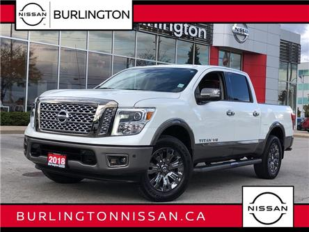 2018 Nissan Titan Platinum (Stk: A7056) in Burlington - Image 1 of 22
