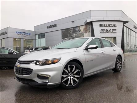 2016 Chevrolet Malibu 1LT (Stk: U292485) in Mississauga - Image 1 of 21
