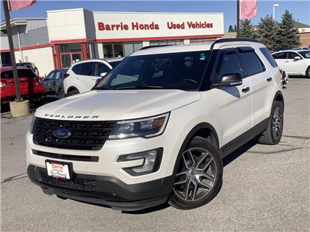 2017 Ford Explorer Sport (Stk: U17532) in Barrie - Image 1 of 29