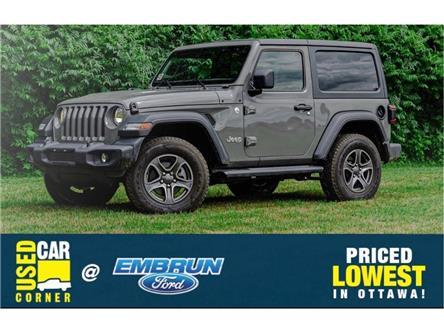 2019 Jeep Wrangler Sport (Stk: 40-3361) in Embrun - Image 1 of 26