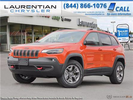 2021 Jeep Cherokee Trailhawk (Stk: 21014) in Sudbury - Image 1 of 23