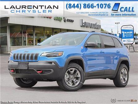 2021 Jeep Cherokee Trailhawk (Stk: 21019) in Sudbury - Image 1 of 23